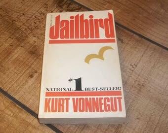 Kurt Vonnegut Jr. JAILBIRD  Paperback Book 1979 Slaughterhouse Five, Breakfast of Champions, Mother Night, Cat's Cradle Author