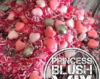 Princess Blush Sprinkles Colorful Beautiful cake decoration