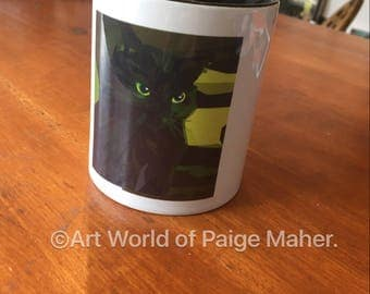 Handsome Devil Cat Mug