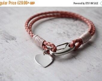 Summer Sale Ladies Leather Bracelet - Personalised Bracelet - Ladies Jewelry