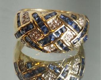 Mint Sapphire Ring Etsy