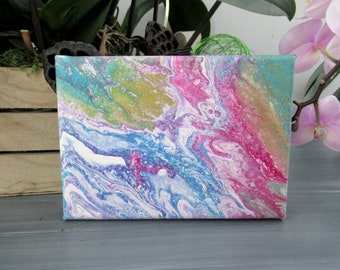 Mini abstract painting, modern art, Abstract art
