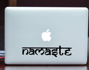 SUMMER SALE! Namaste Yoga Car Laptop iPhone Vinyl Decal Sticker