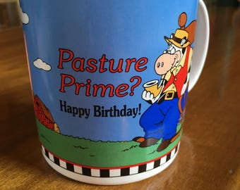 Vintage Pasture Prime mug