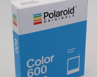 Impossible Project Polaroid Originals Color Instant Film for use with Polaroid 600 Cameras - Brand-new 2017 Stock - Classic White Frame