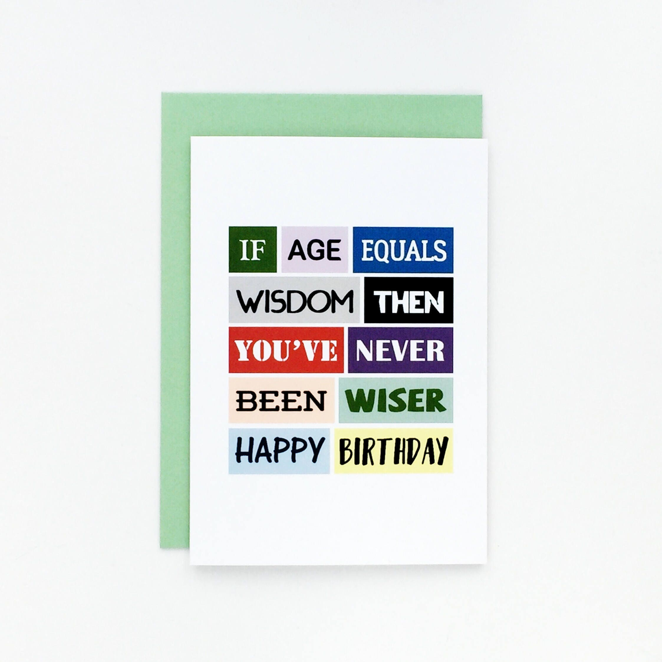 Funny Birthday Card Friend Aunt Uncle Cheeky