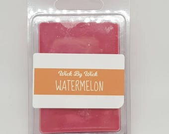 Watermelon Scented Soy Wax Melt