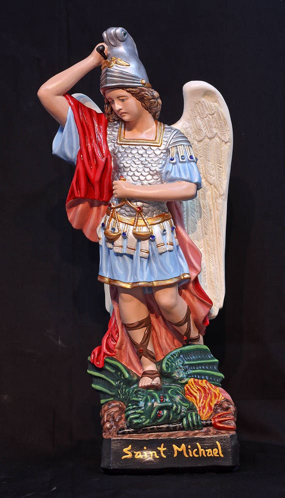 "St. Michael Archangel 20"" Patron of Soldiers and Police"