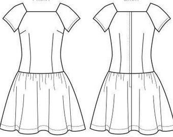 Ava Dropwaist Dress