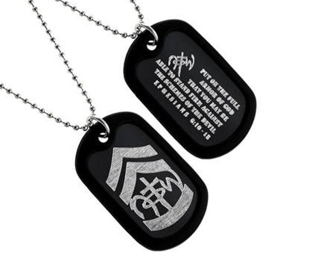 "NOTW - ""Armor Of God"" Dog Tag"