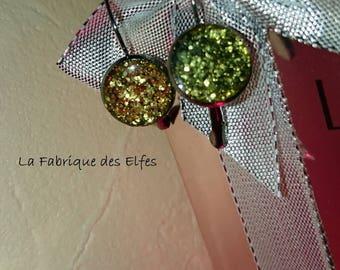 Original gift earrings my Stud EARRINGS in gold