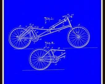 W C Kindney Cycle Patent # 846033 dated March 5, 1907.