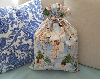 Little angels, sky and forest magic pouch