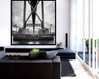 Large Wall Art Canvas Print Vancouver Stanley Park Photo
