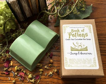 Book of Potions Bar Soap - Book Inspired Gift - Natural Soap