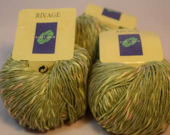 Rivage Cotton Blend 3 balls sell together 150g