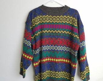 Vintage E Spirit Sweater Sz. M