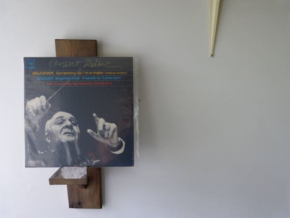 Like this item? - Vinyl Record Display Wall Mount Style Recycled Barnwood.