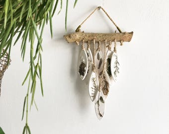 "Botanical Wall Hanging ""Fern"""