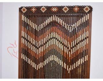 Exceptional Door Curtain Wood Curtain Wood Blinds Door Beads Beaded Curtains Beaded  Door Curtain Wood Bead Door