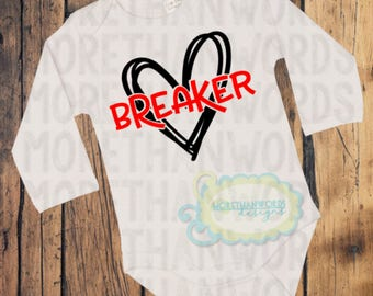Heart Breaker Shirt Heart Shirt Valentines Day Shirt Valentine Shirt