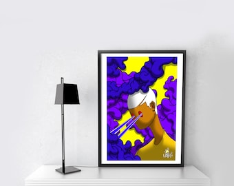 """Poster """"Light Year"""""""