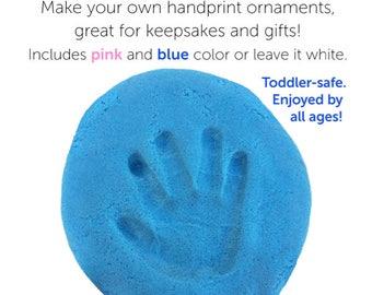 Baby Handprint Kit- Best Baby Shower Gift- Baby Imprint Kit- Personalized Baby Gift- Baby Hand and Footprint Kit- Baby Keepsake- Ornament