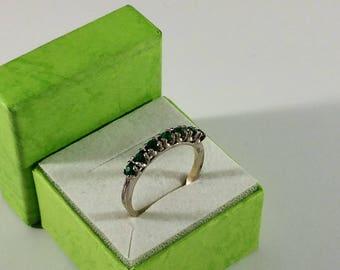 18.2 mm-Ring Ring Silver Crystal SR