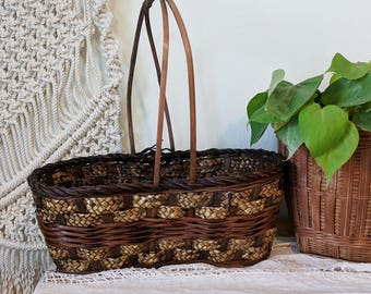 Large Easter Basket / Double Holder Basket