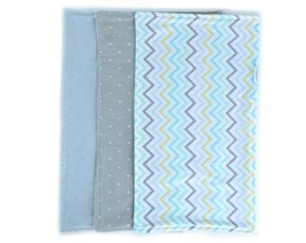 Chevron Burp cloths - Arrow burp cloths - Gender neutral burp cloths - Baby gift