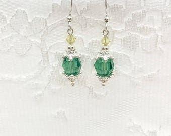 Bridesmaid Earrings, Bridal Party Earrings, Birthstone Earrings, Bridal Party Jewelry