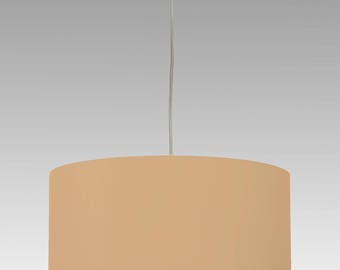 Lampshade drumshade cylinder sand individual size and colour