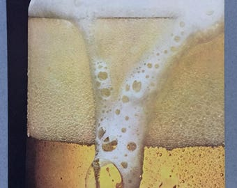 1980 Pabst Blue Ribbon Beer Double Page Print Ad - PBR