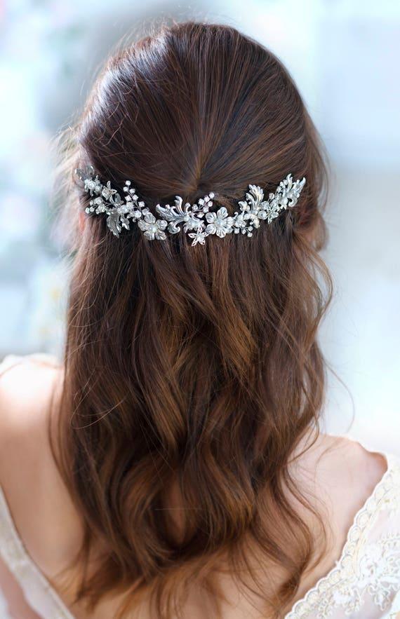 accessoires cheveux de mari e cristal bridal bandeau mariage. Black Bedroom Furniture Sets. Home Design Ideas