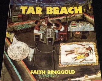1991 Reading Rainbow, Tar Beach by Faith Ringgold Scholastic, LIKE NEW