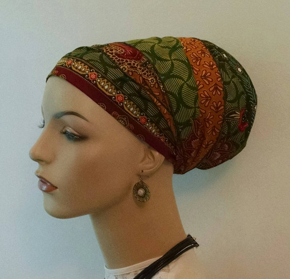 Attractive patterns sinar tichel, tichels, head scarves, chemo scarves, hair snoods