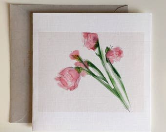 Flowers in the Afternoon - Greeting Card