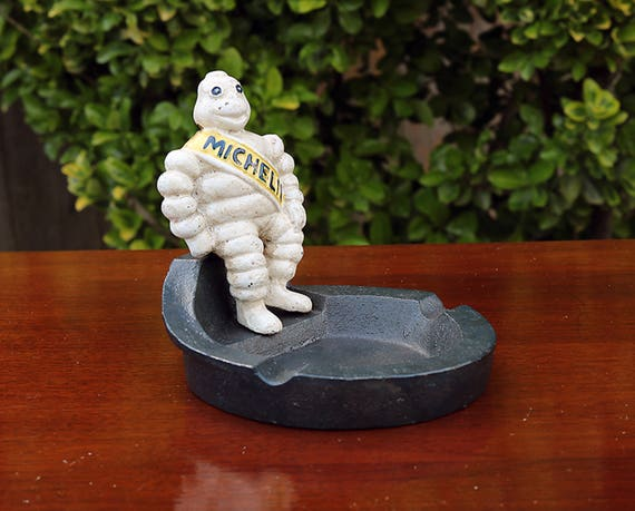 Michelin Man Ashtray-Michelin Man-Vintage Style Ashtray-Michelin Man-Michelin Man Sale-Michelin Man Statue-Bibendum Man-Primitive Statue