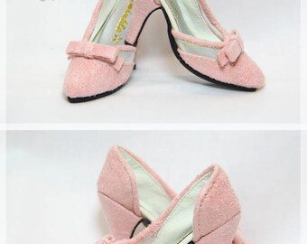 BJD D'Orsay Court Bow-knot High-heels For SD10 / SD13 / SDGr / SD16 / DD girl's doll shoes