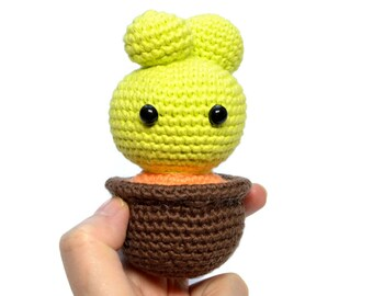 Cactus amigurumi. Potted cactus handmade. Cactus toy. Amigurumi collection. Kawaii crochet cactus. Miniature cactus crochet. Gift decor home