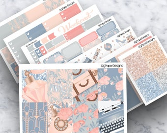 Vintage Soul | ECLP | Classic HP | Weekly Kit | Planner Stickers