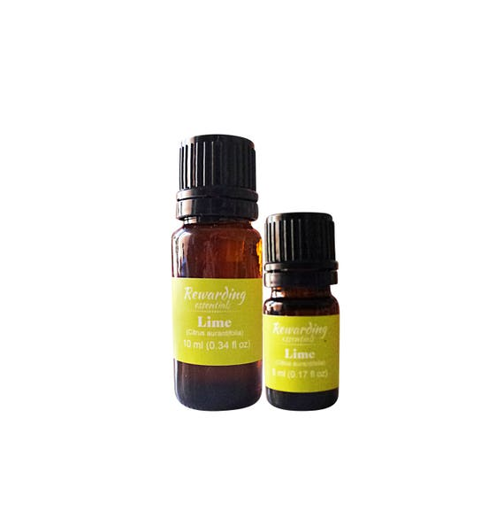 Lime Essential Oil 100% Pure Therapeutic by Rewarding Essentials US Seller
