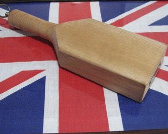G. Rushbrooke (Smithfield)Ltd. Paddle cutting board made in England
