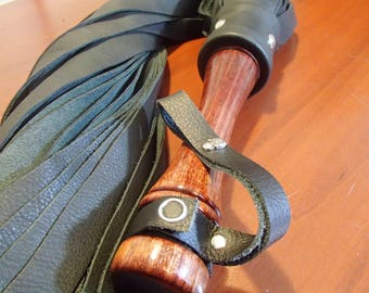 Heavy Leather Flogger