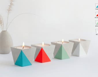 Tea light holder from Beton_NEON