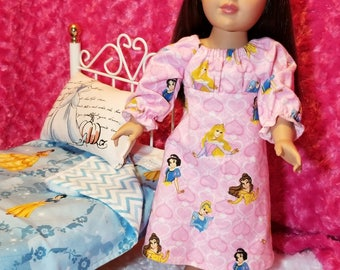 Disney Princess Nightgown - American Girl & Friends