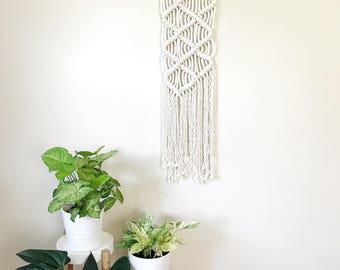 Macrame Wall Decor, Woven Wall Hanging, Housewarming Gift, Jungalow Style, Macrame Wall Hanging, Modern Decor, Weaving Wall Art, Woven Decor