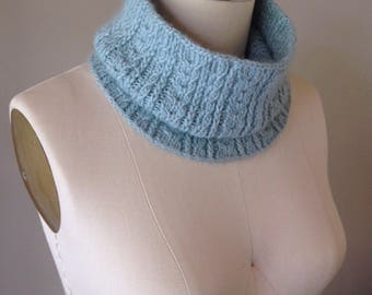 knitting pattern, knit pattern, cowl pattern, knit cowl pattern, textured cowl, Orchideus Cowl, cowl, instant download pdf DIY instructions