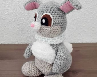 THUMPER the rabbit crochet