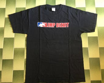 Limp Bizkit 2000-01 Tour double sided print tshirt Size L